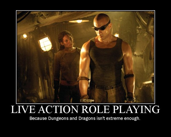 Chronicles of Riddick: LARP